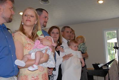 Mother's Day Baby Dedication