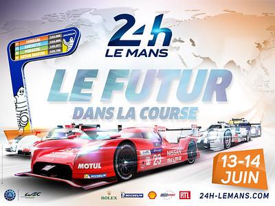 24 HEURES DU MANS 2015 - Circuit de la Sarthe