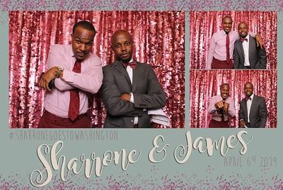 Sharrone and James Wedding