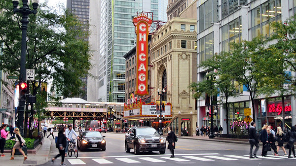 Chicago and Amtrak's Hiawatha's