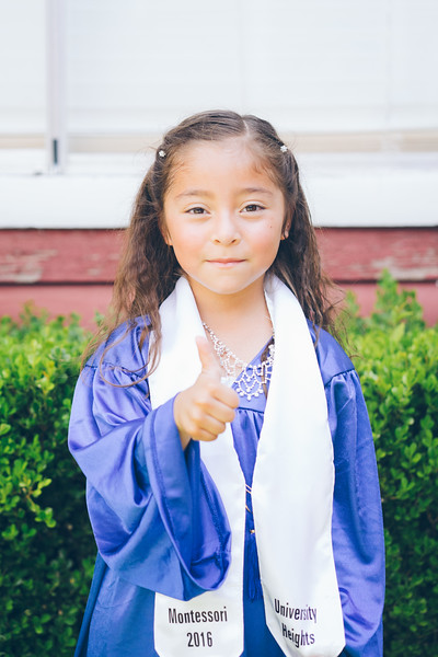 Bella's Pre-school Graduation