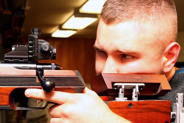 Rifle Team Practice