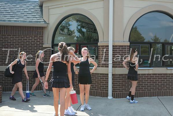 CHCA 2014 Girls Var Tennis vs Seven Hills 08.26