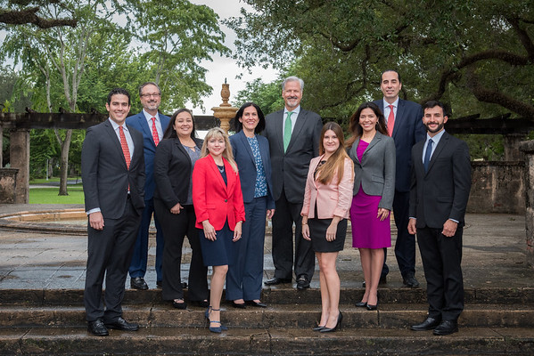 Merrill Lynch Coral Gables- Team Portraits 2019