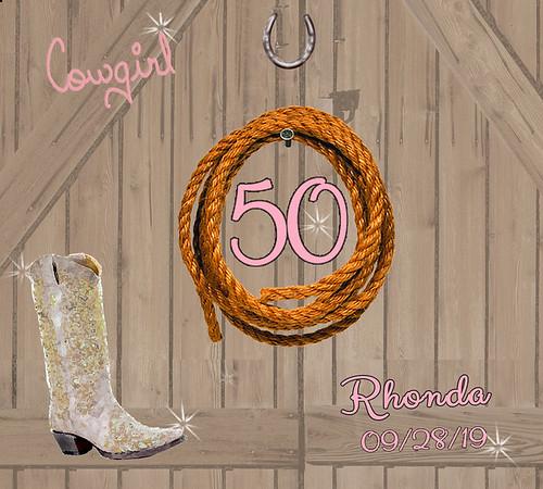 Rhonda's 50th Birthday
