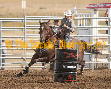 Jr and Sr Barrel Racing Sunday