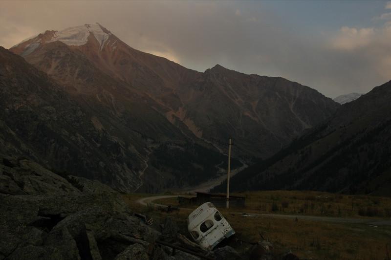 Abandoned Vehicle at Tian Shan Observatory - Almaty, Kazakhstan