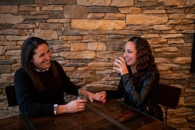 Amber + Natasha | Milwaukee Engagement Session