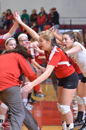 GV Volleyball vs Lowville 1-23-15