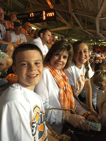 Sept 12: Grandma D Vists For Vols Game