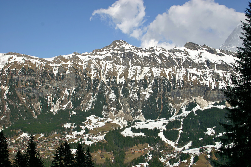 view from trail to Winteregg