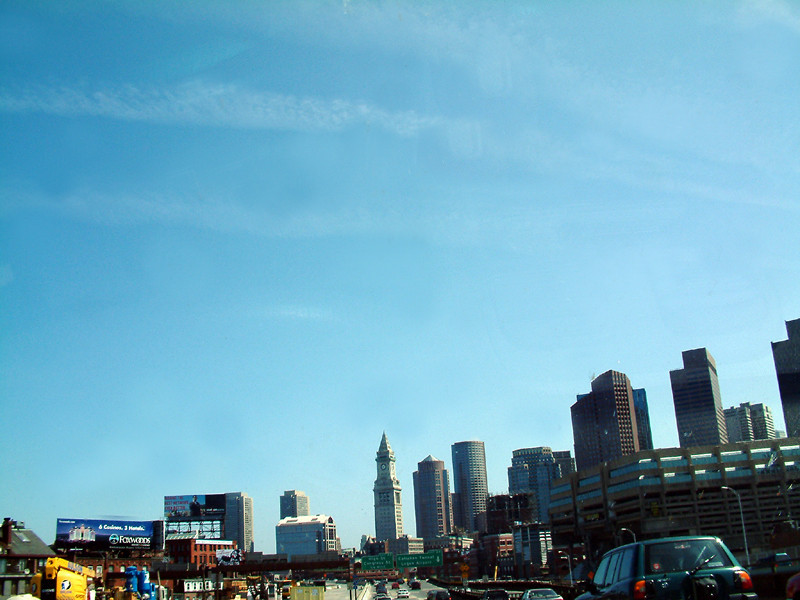 Boston Downtown while driving!.jpg