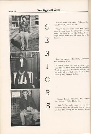 1953 Cypress Knee