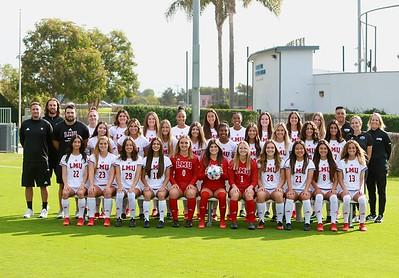 LMU Womans Soccer Team Photos Aug. 11, 2021