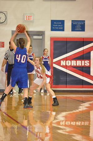 Var Girls Basketball vs Lin Christian, 2-12-11