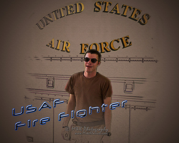 USAF Fire Fighters
