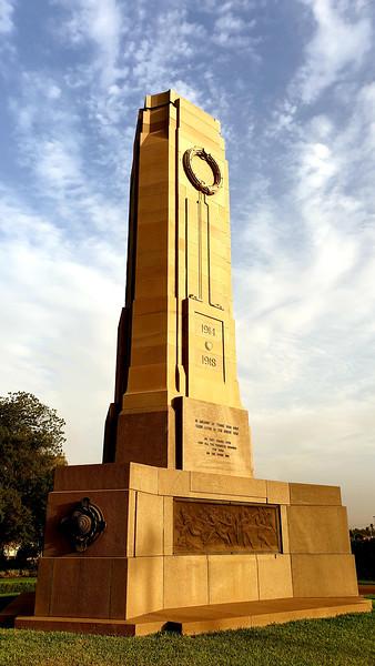 03 February 2020: Dubbo War Memorial, Dubbo, New South Wales.
