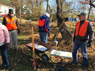 11.10.18 Oella Cemetery Cleanup
