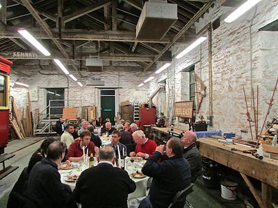 Steam Railway dinner