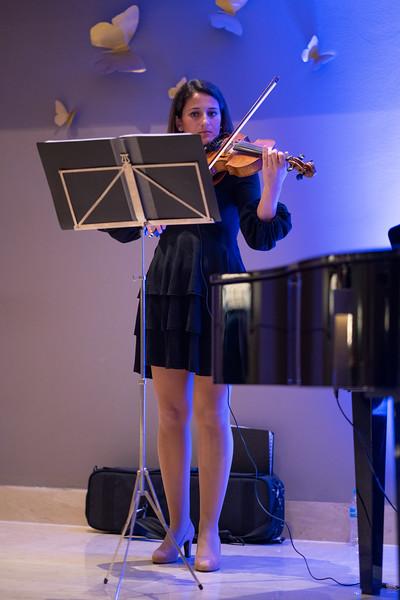 Violinist at the Ikos Dassia, Corfu