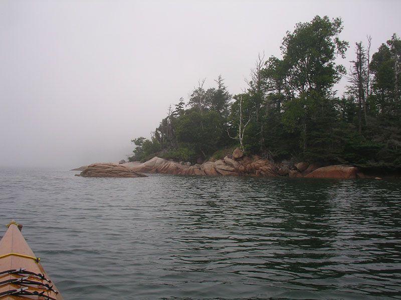 Around Hen Island.