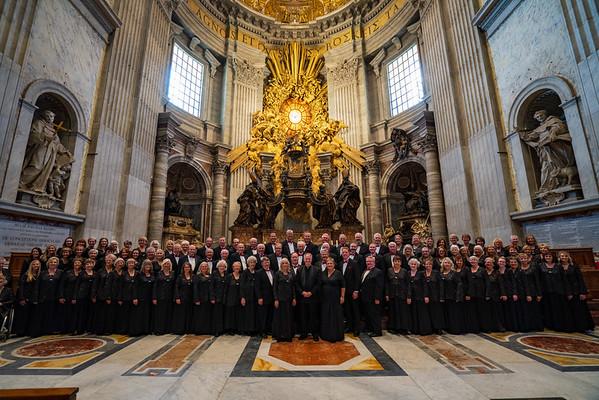 Choir in the Vatican