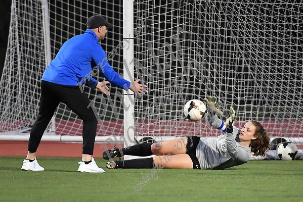 Tulpehocken vs Oley Girls High School Soccer 2017 - 2018