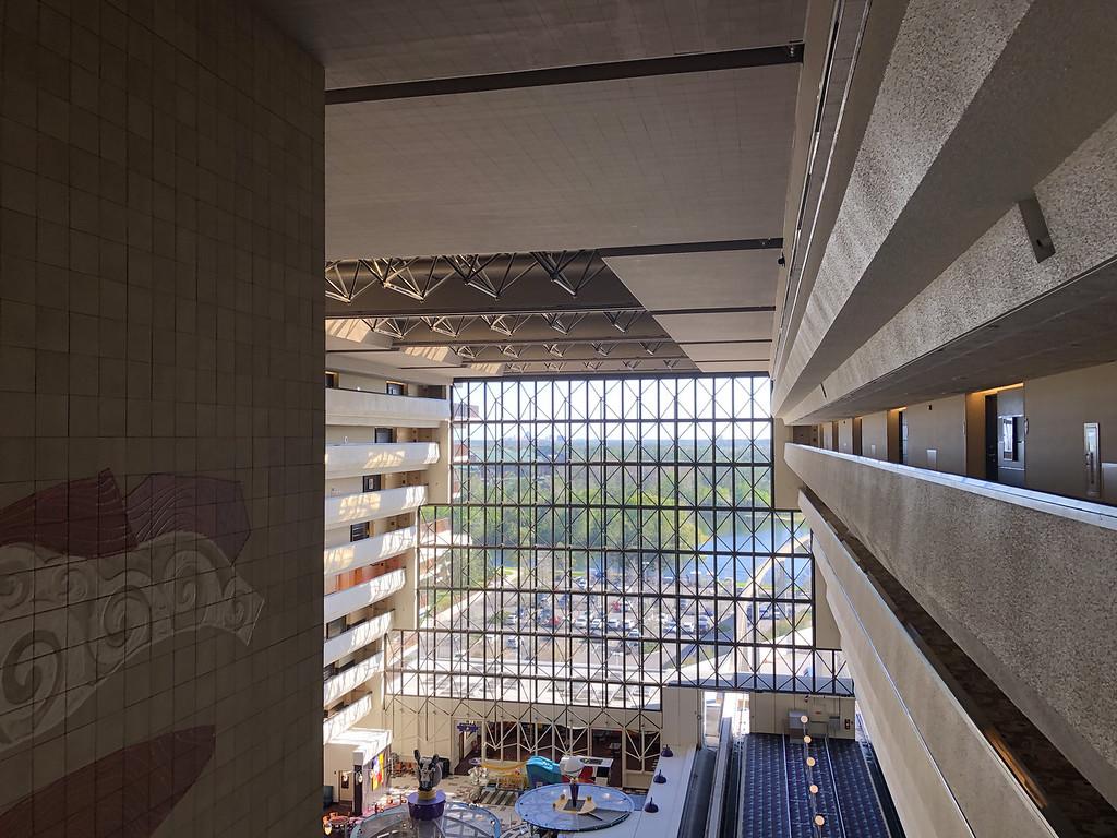 Contemporary Resort Atrium