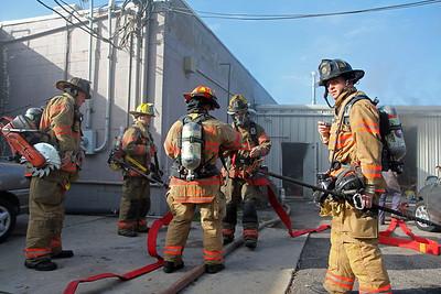 Building Fire 2600 E. 21st St. N.