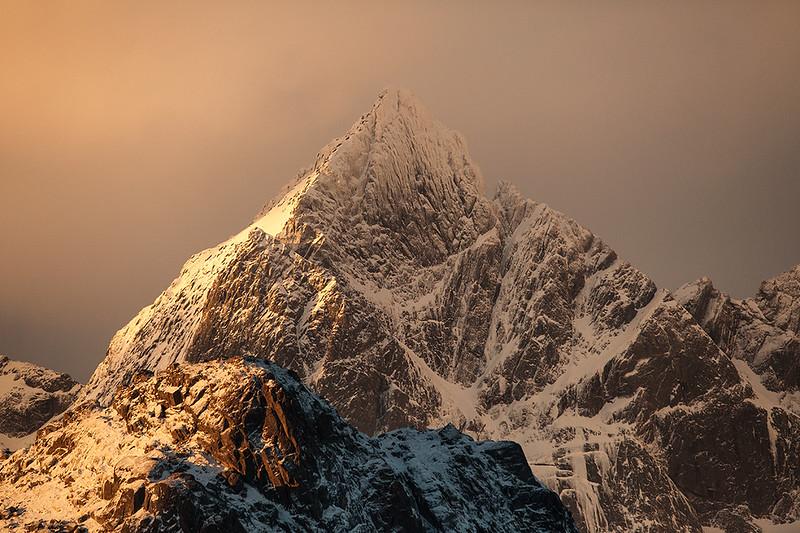 The peak
