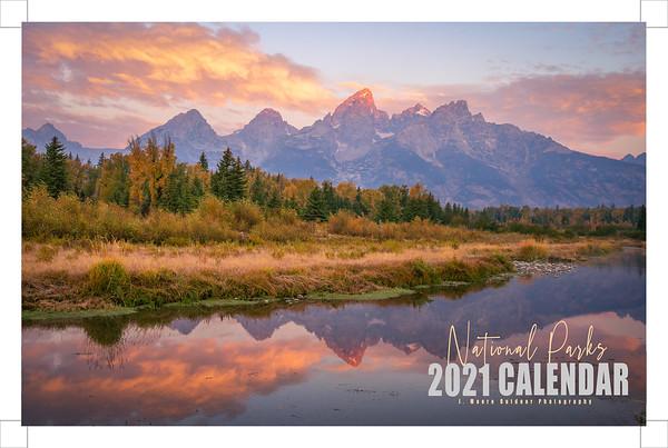 National Park Calendar