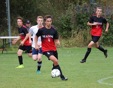 US Boys Soccer vs Riverside Christian 9-21-18