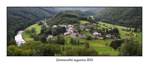 Semoisvallei  16-19 augustus 2011