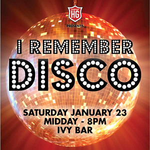 I Remember Disco 230116