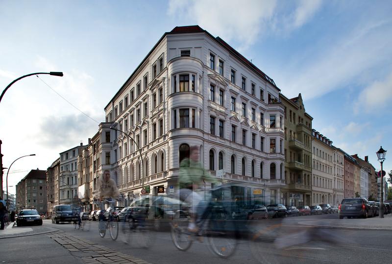Corner of Münz and Max Beer streets, Scheunenviertel district, Mitte, Berlin, Germany