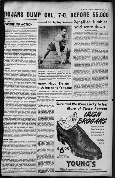 Southern California Trojan, Vol. 35, No. 40, October 04, 1943
