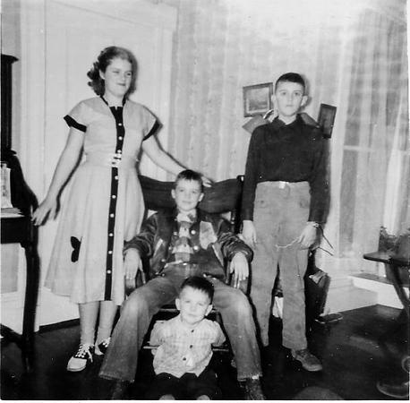 Nancy, Charlie, Pete, and Lee