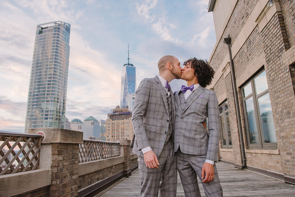 Josh & Ryan Battery Park Wedding