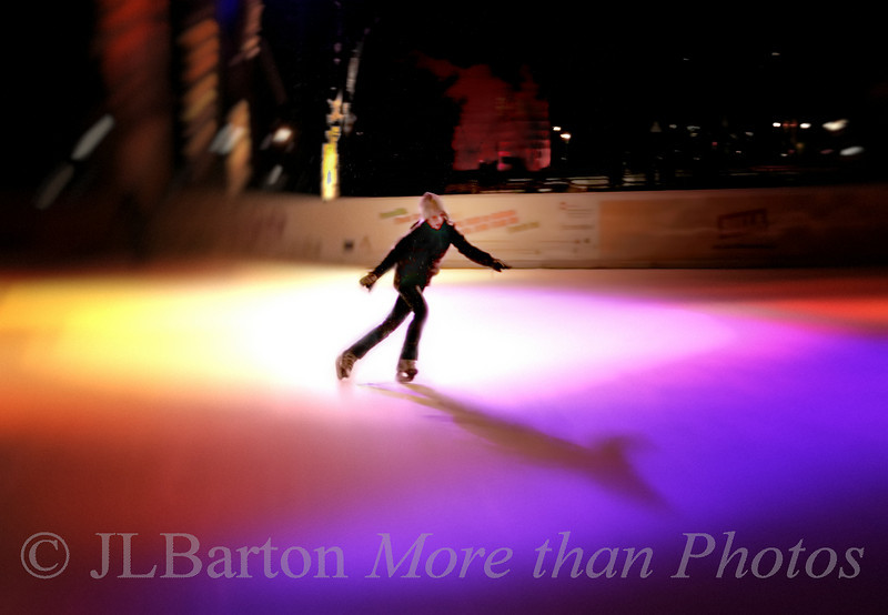 Solo Skating Vienna City Hall Ice Rink
