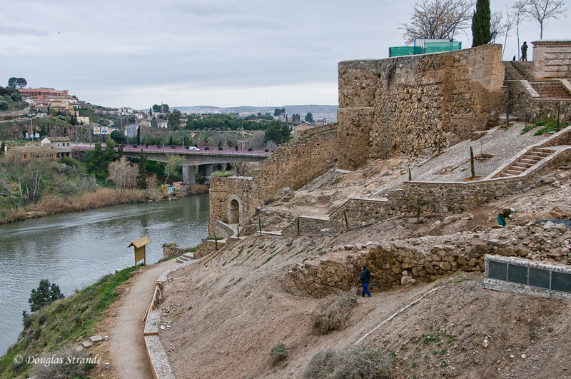 Wed 3/09 in Toledo: View of the Tagus River
