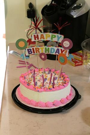 Jame's 4th Birthday  Danielle's 31st