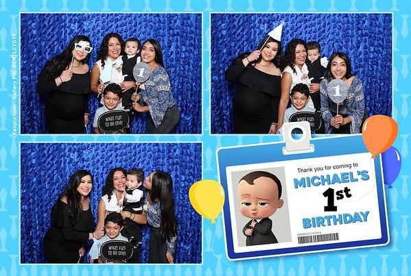 Prints - Michael's 1st Birthday Party