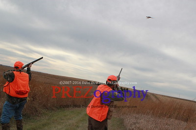 Mike Huckabee Steve King Pheasant Hunt 11-1-15
