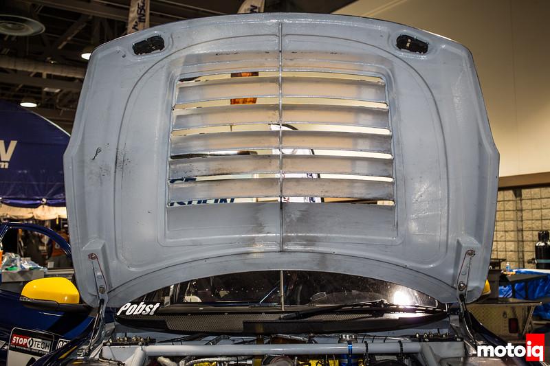 Nerd's Eye View: K-PAX Racing Volvo S60 hood vent