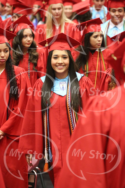 Class of 2018 Walk In and Walk Out of Commencement