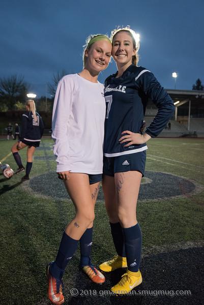 2018 Girls Varsity Soccer Playoffs vs. Crescent Valley