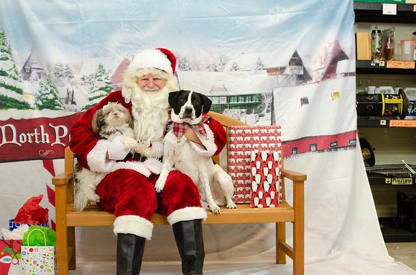 2018 - 12 - Santa Paws Photos