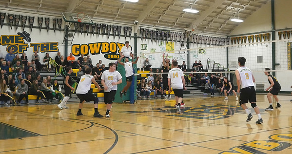 190319 LHS VARSITY MEN'S VOLLEYBALL (LOST TO GHS)