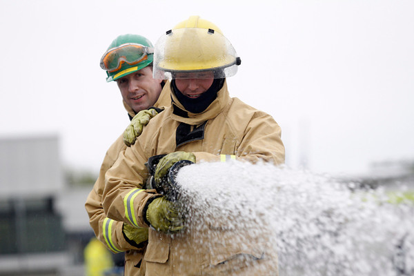 Fire ERT - GSK Irvine EHS Day 18.5.2013