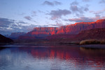 Vermillion Cliffs sunrise at Lees Ferry.
